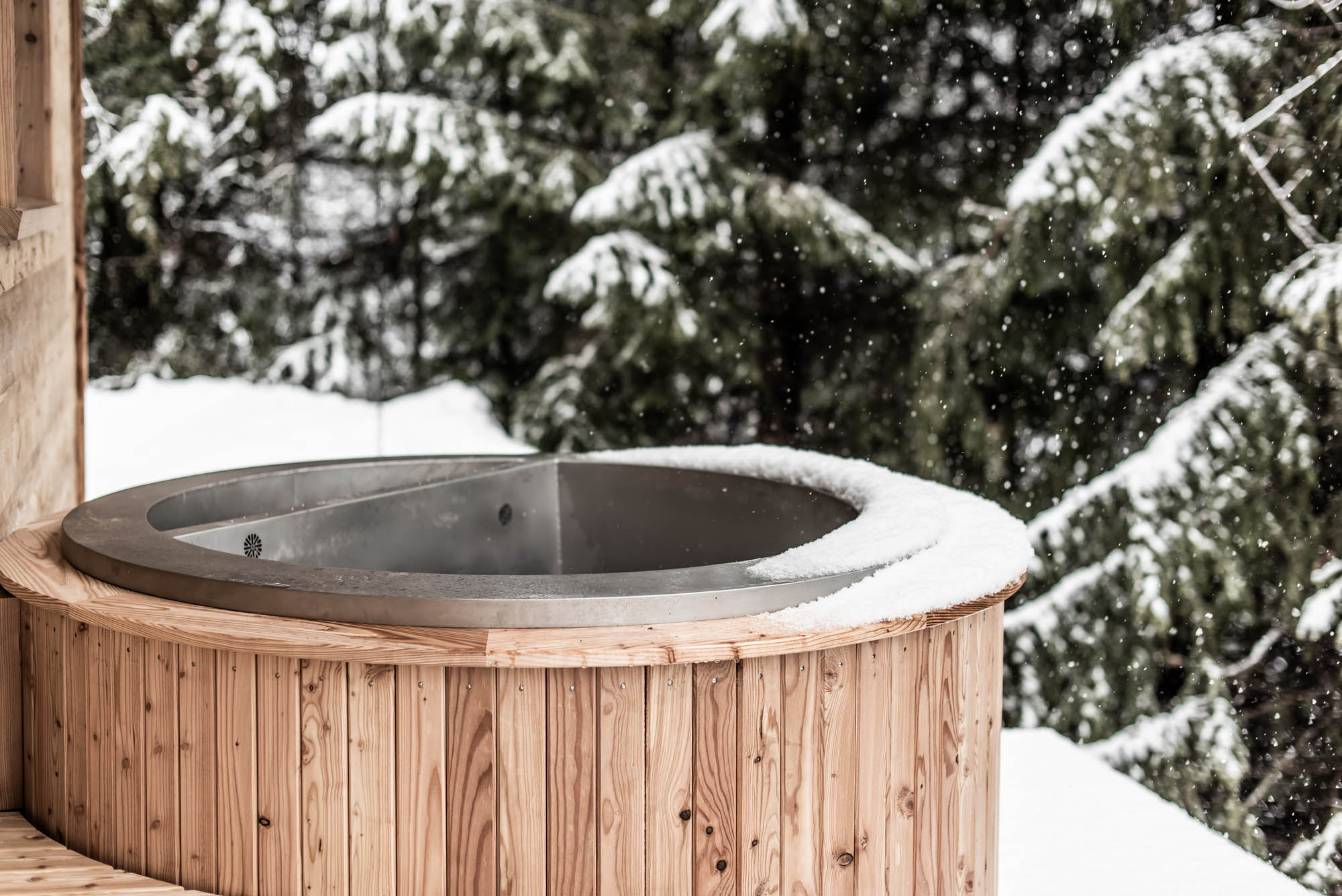 Luxus Chalet Benglerwald am Lech