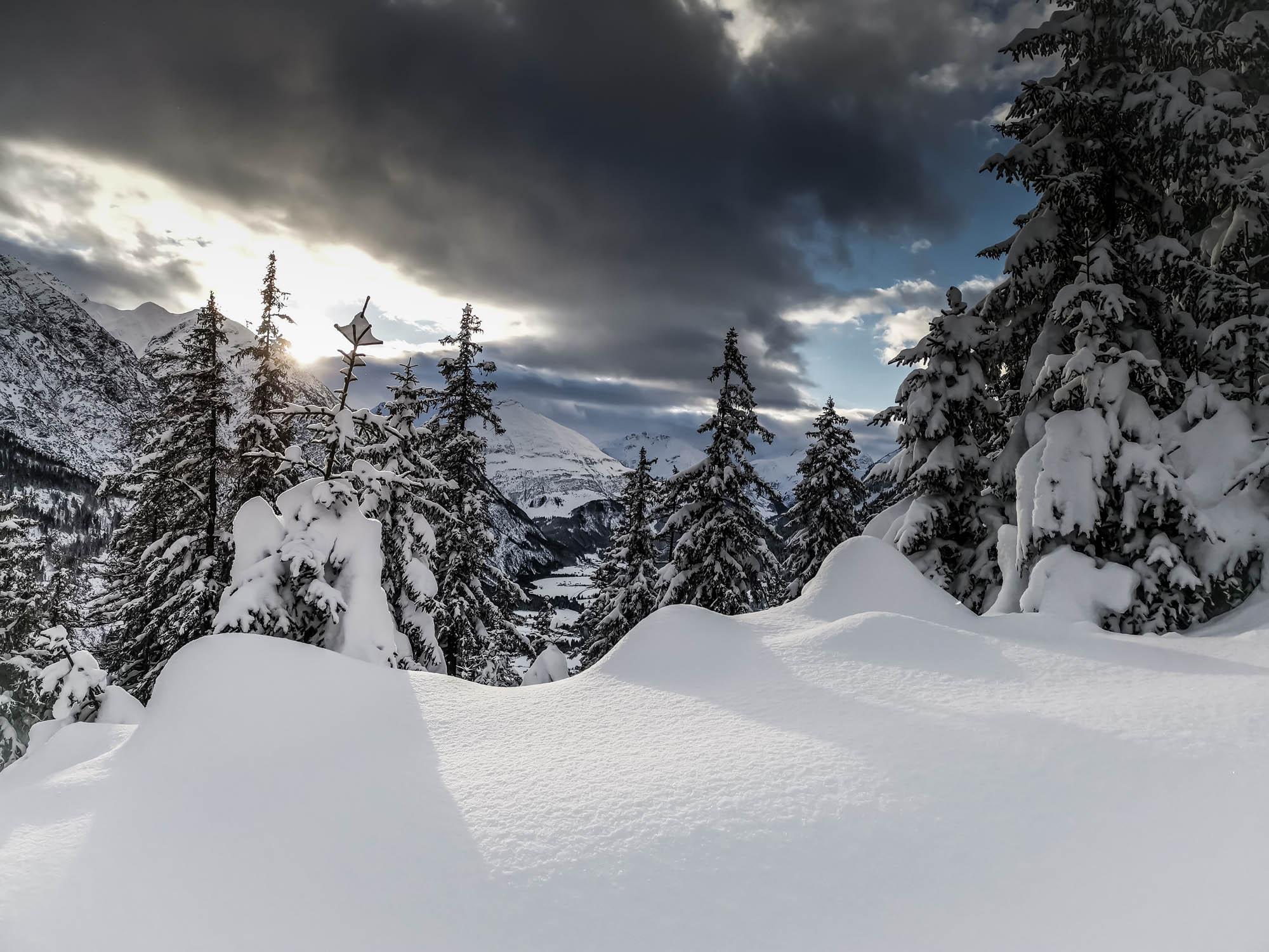 Winterurlaub im Chalet Lechtal