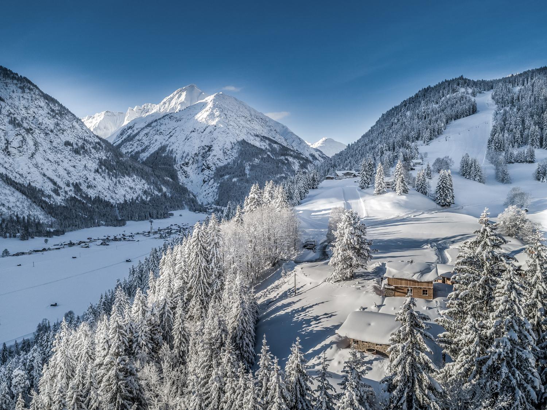 Beglerwald Bergchalet Dorf